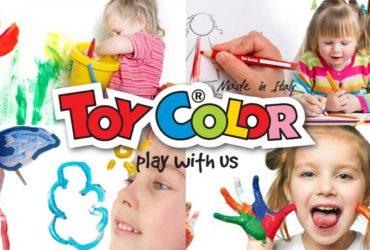 Toy Color sponsor tecnico di Gioca Bimbi