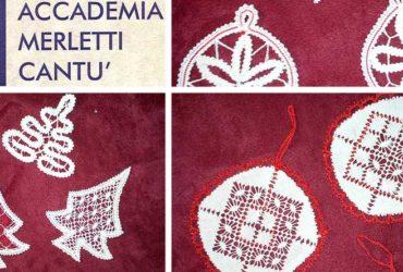 HS Milano – Tutte dedicate alle decorazioni natalizie le dimostrazioni dell'Associazione Accademia Merletti di Cantù