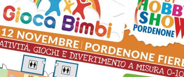 Online la planimetria del padiglione e il programma delle attività di Gioca Bimbi 2017