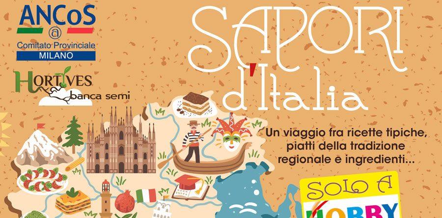 Hs milano e ancos presentano sapori d italia for Roma piatti tipici