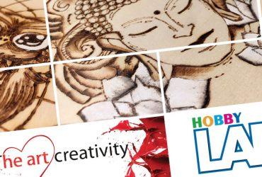 HS Milano – Pirografia a… colori. Ecco i nuovi corsi di The art creativity